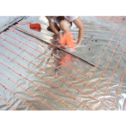 金属发热线厂家  康达尔电采暖安装