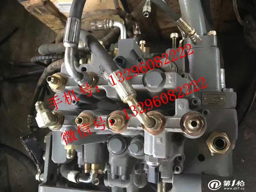 日立zx120分配阀专业维修-维修日立液压泵图片