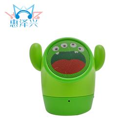 工厂直销新款小黄人无线蓝牙音箱免提通话便携式插卡大眼怪音响