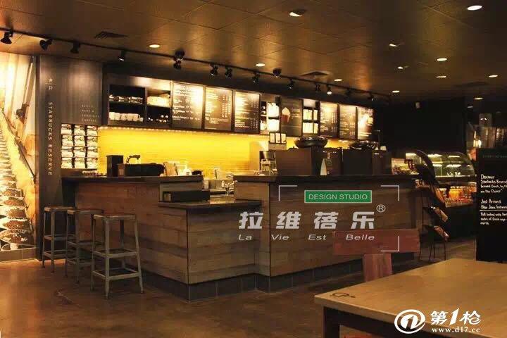 上海星巴克吧台定做咖啡店吧台厂家吧台设计,上海振腾木器有限公司是