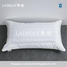 广州莱棉酒店布草 酒店宾馆公寓安眠荞麦枕 羽丝棉枕芯 软枕
