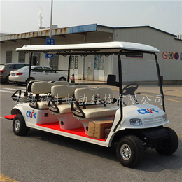 供应8座电动高尔夫球车-乡村旅游代步车-校园接送参观车