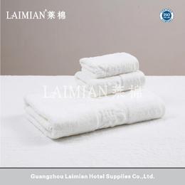 厂家直销星级酒店毛巾 宾馆酒店16S进口纯棉织LOGO毛巾