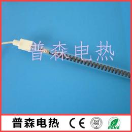 黑色发热丝加热管 碳纤维电热管 烧烤炉电加热管 厂家直销