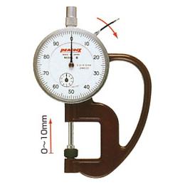 日本peac孔雀牌指针式厚度计 测厚仪高精度进口G-1A