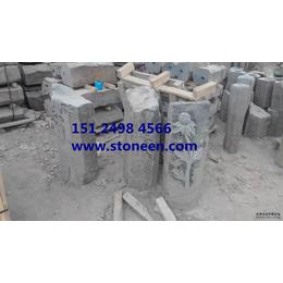 供应蒙古黑石材风景石