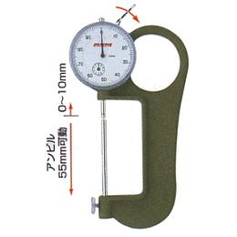 日本peacock孔雀牌指针式厚度仪 厚度计 测厚仪G-4