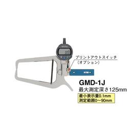 日本teclock得乐高精度指针式外径卡规GMD-1J