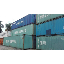 广州厂家供应20尺二手集装箱