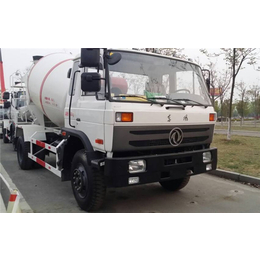 丰城5方混凝土搅拌车价格+东风小型搅拌车厂家供应