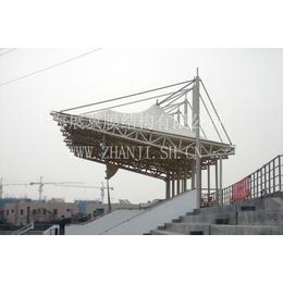 供应上海展冀膜结构看台_膜结构建筑