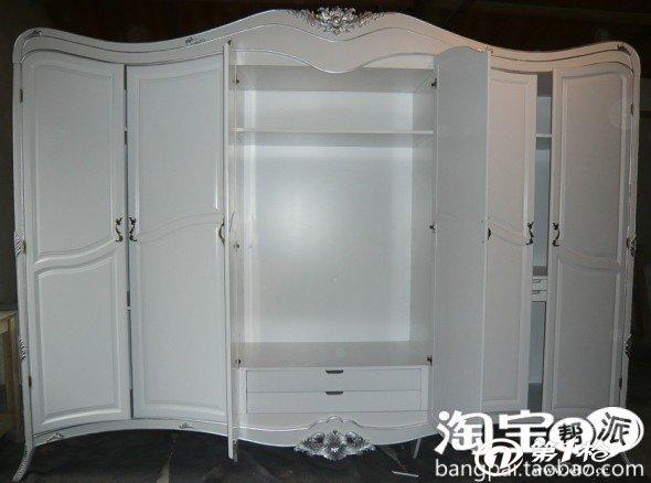 欧式新古典家具 欧式衣柜 酒店套房家 实木衣柜 客厅家具yg--004