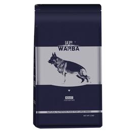 沃巴大型犬成犬粮 天然粮10kg罗威纳德牧金毛边牧拉布拉多