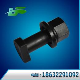黑磷化豪沃前轮 汽车轮毂螺丝 汽车配件