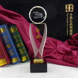 学校团日活动奖杯 青少年台球比赛金奖奖杯 水晶奖杯