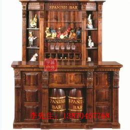 实木酒吧屋红酒柜 防腐木酒吧屋