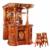 防腐木酒吧屋实木古典酒吧 吧台缩略图4