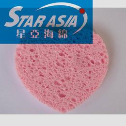星亚海绵供应吸水保湿洗脸压缩木浆棉纤维化妆木浆棉