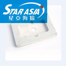 星亚海绵直销环保材料防静电植绒包装盒 eva海绵内托内衬