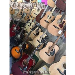 广州哪里有EPIPHONE 蜂鸟民谣木吉他卖店成乐时代琴行