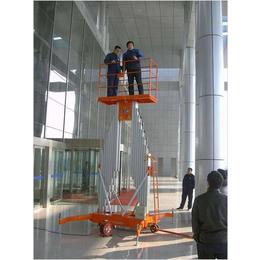 双桅柱铝合金升降机铝合金高空作业平台