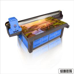 供应江苏能打印瓷砖图案的机器设--瓷砖UV平板印花机