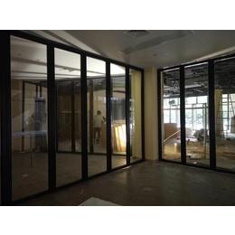 折叠玻璃隔断 办公室玻璃隔断定做 深圳赛勒尔隔断厂家直销