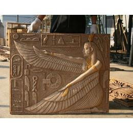 砂岩浮雕花草人物大型广场墙壁浮雕厂家专业