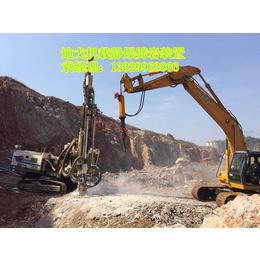 新疆大型机载劈力机厂家直销石灰石花岗岩开采必备采石设备