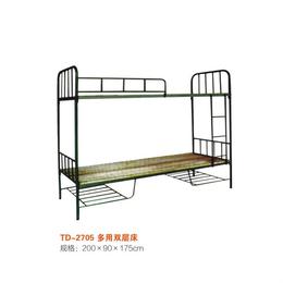 江西公寓学校多用双层铁床