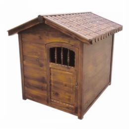 碳化木狗屋中大型犬专用户外防腐实木狗屋