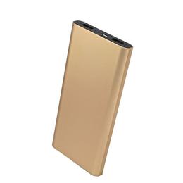 厂家直销新款铝合金移动电源 超薄一万毫安大容量