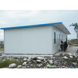 河北唐山厂家焊接式防风活动房岩棉防火彩钢房