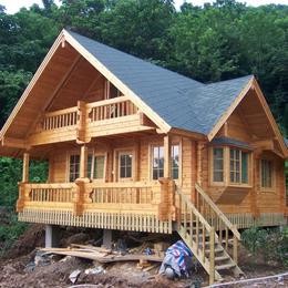 ****防腐木的木屋系列