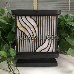 供应厂家直销SLB-8816正方形柱头灯咖啡色系列柱头灯