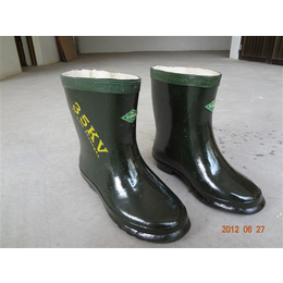 防静电绝缘胶鞋 厂家直销双安牌绝缘靴绝缘鞋 畅销全国