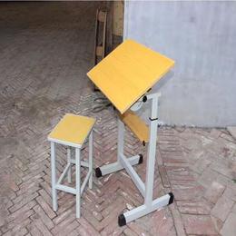 江西学校美术课桌椅 学生美术桌椅