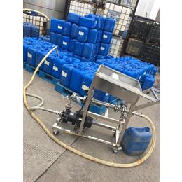 冰醋酸自动灌装25公斤中包装塑料桶计量万博manbetx官网登录