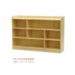 江西  实木玩具柜  幼儿园柜