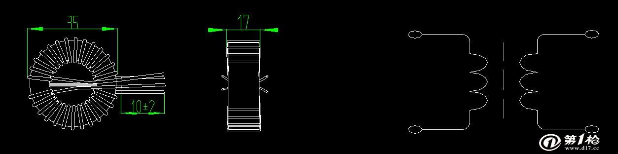 第一枪 产品库 电子元器件 电感元器件 电感线圈 高品质30*18*13磁环