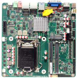 H110主板双千兆网口6个串口带PCIE槽酷睿6 7代主板