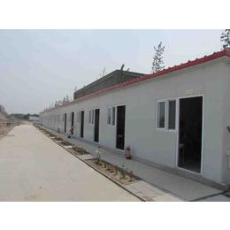 河北邢台保暖防风异型彩钢房工地用标准k型房