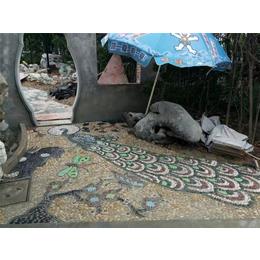 陶瓷自由石马赛克拼图、连云港马赛克、申达陶瓷