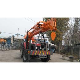 厂家直销8吨电网建设专用拖拉机打桩吊车