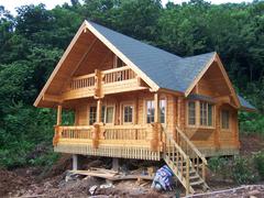 户外防腐木木屋