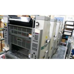 几十万的进口四色自动胶印机联系