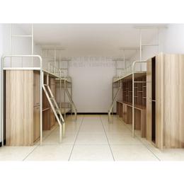 新款 连体学校公寓组合床