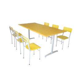 阅览桌图书馆阅览桌 多人图书馆桌