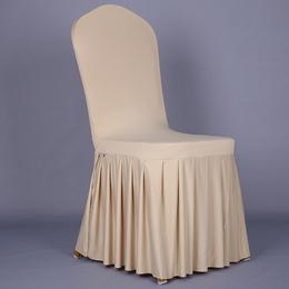 专业生产定做酒店椅套 宴会椅套 涤纶椅套 -多色弹力椅套