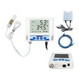 以太网温湿度记录仪 药店车间商场温湿度监控